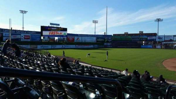 Clipper Magazine Stadium, section: 22, row: M, seat: 10