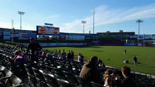 Clipper Magazine Stadium, section: 23, row: Q, seat: 4