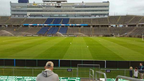 Rentschler Field, section: 123, row: 10, seat: 1