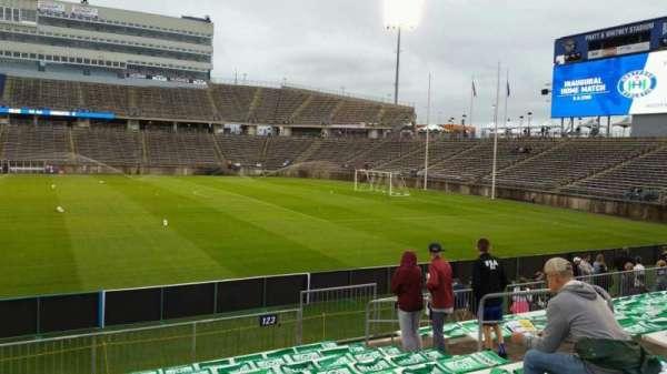 Rentschler Field, section: 123, row: 10, seat: 10