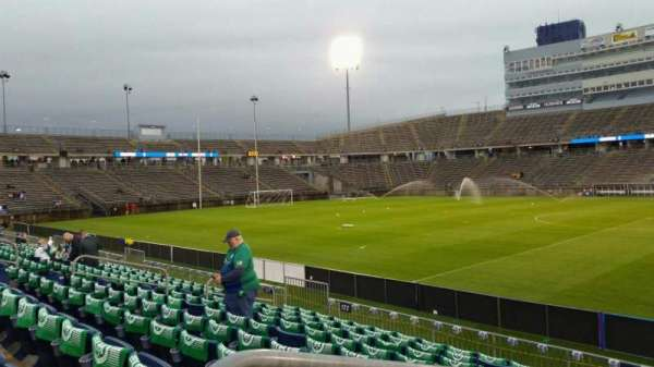 Rentschler Field, section: 123, row: 10, seat: 20
