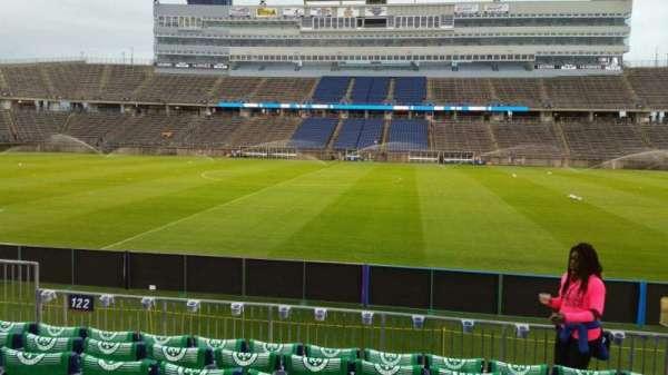 Rentschler Field, section: 122, row: 7, seat: 6