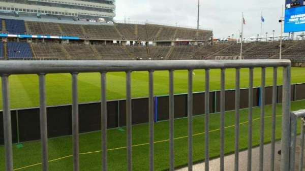 Rentschler Field, section: 121, row: 1, seat: 1