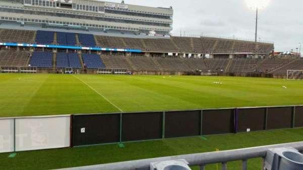 Rentschler Field, section: 121, row: 1, seat: 16