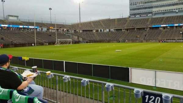 Rentschler Field, section: 120, row: 3, seat: 1