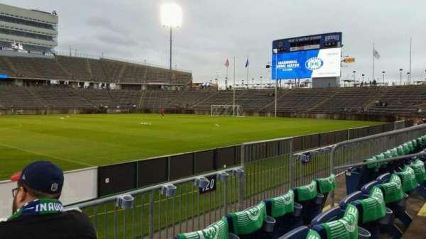 Rentschler Field, section: 120, row: 3, seat: 9