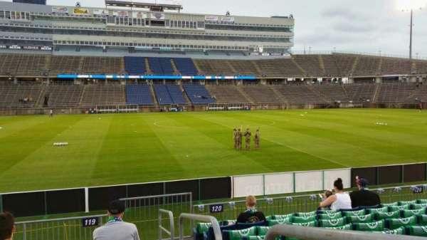 Rentschler Field, section: 119, row: 9, seat: 1