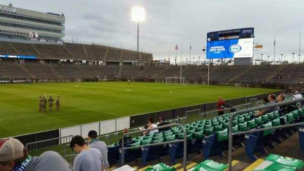 Rentschler Field, section: 119, row: 9, seat: 8
