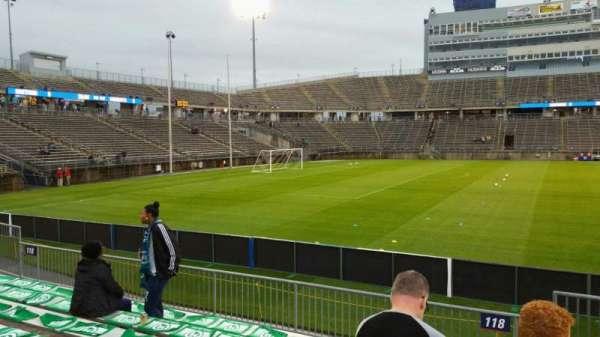 Rentschler Field, section: 118, row: 7, seat: 1