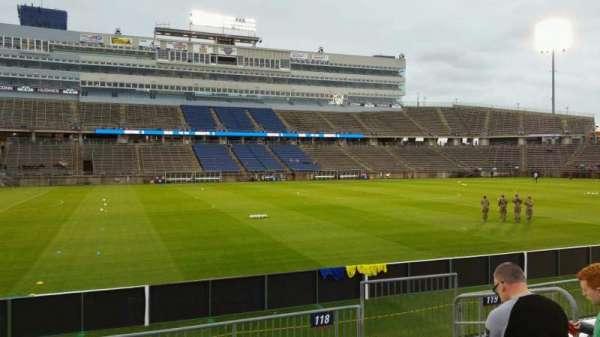 Rentschler Field, section: 118, row: 7, seat: 8