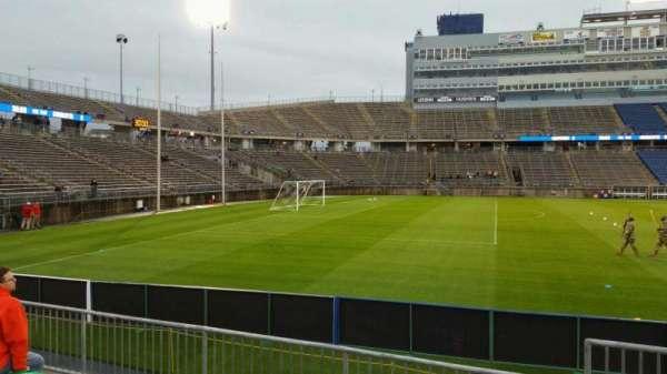 Rentschler Field, section: 117, row: 5, seat: 1