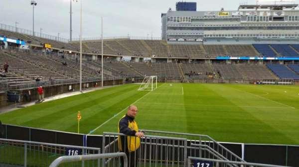 Rentschler Field, section: 117, row: 5, seat: 25