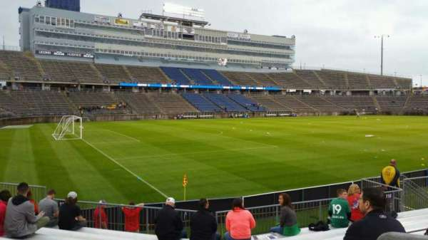 Rentschler Field, section: 115, row: 9, seat: 15