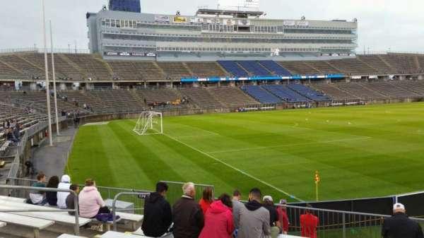 Rentschler Field, section: 115, row: 9, seat: 22
