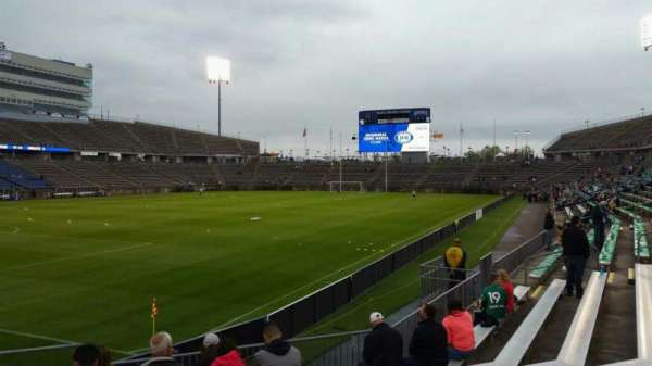 Rentschler Field, section: 115, row: 9, seat: 29