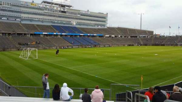 Rentschler Field, section: 114, row: 10, seat: 1