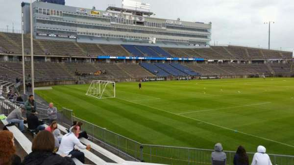 Rentschler Field, section: 114, row: 10, seat: 9
