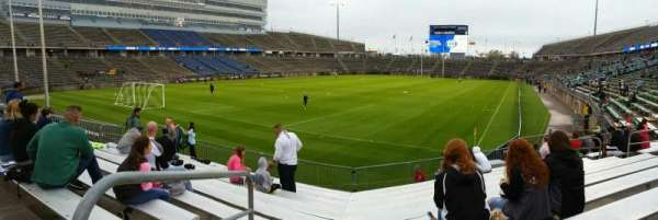 Rentschler Field, section: 114, row: 10, seat: 20