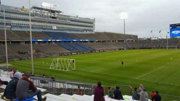 Rentschler Field, section: 113, row: 16, seat: 35