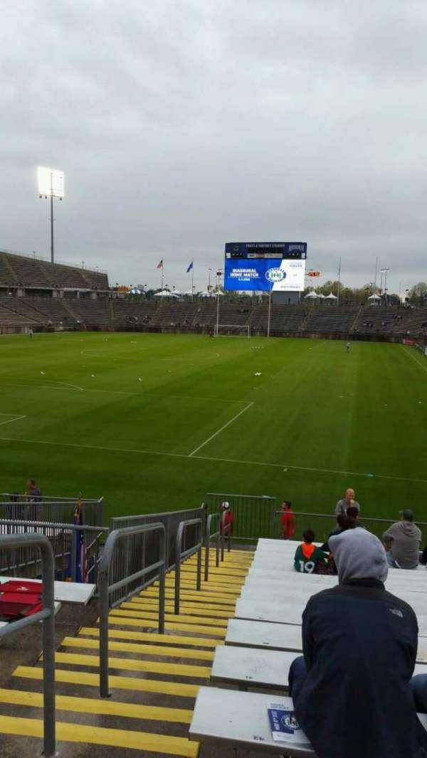 Rentschler Field, section: 113, row: 16, seat: 46