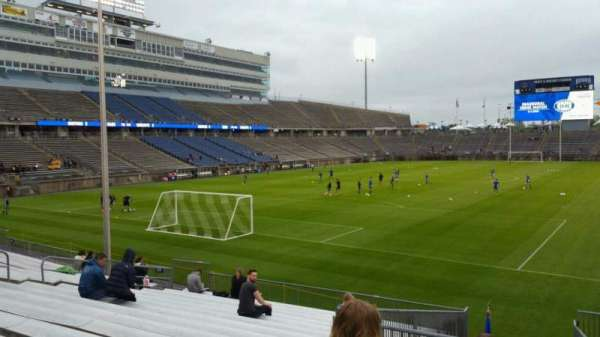 Rentschler Field, section: 112, row: 15, seat: 1