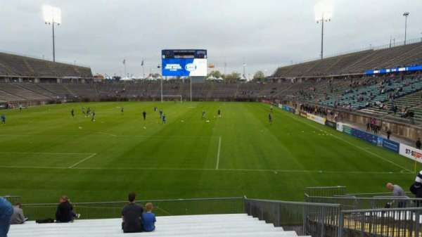 Rentschler Field, section: 112, row: 15, seat: 11