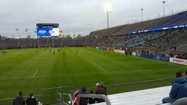 Rentschler Field, section: 111, row: 11, seat: 1
