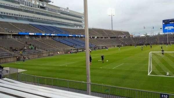 Rentschler Field, section: 110, row: 8, seat: 1