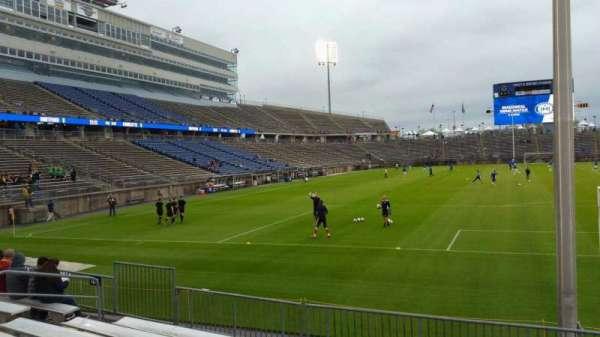 Rentschler Field, section: 110, row: 8, seat: 13