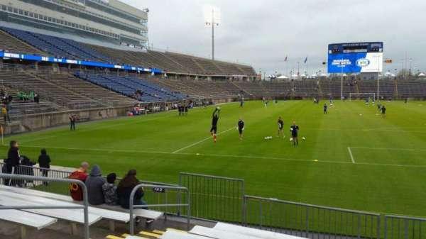 Rentschler Field, section: 110, row: 8, seat: 21