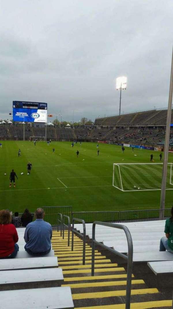 Rentschler Field, section: 109, row: 15, seat: 1
