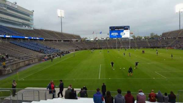 Rentschler Field, section: 109, row: 15, seat: 10