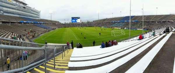 Rentschler Field, section: 109, row: 15, seat: 20