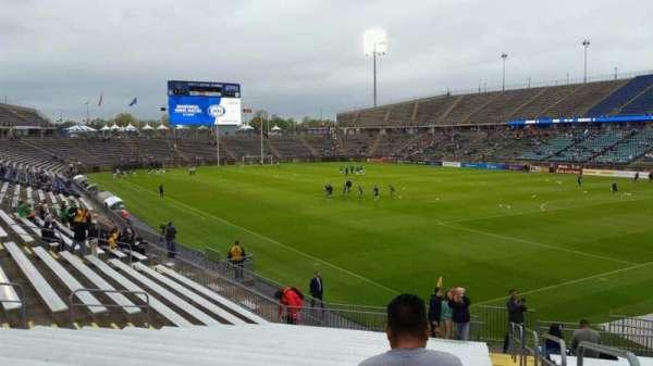 Rentschler Field, section: 106, row: 19, seat: 1