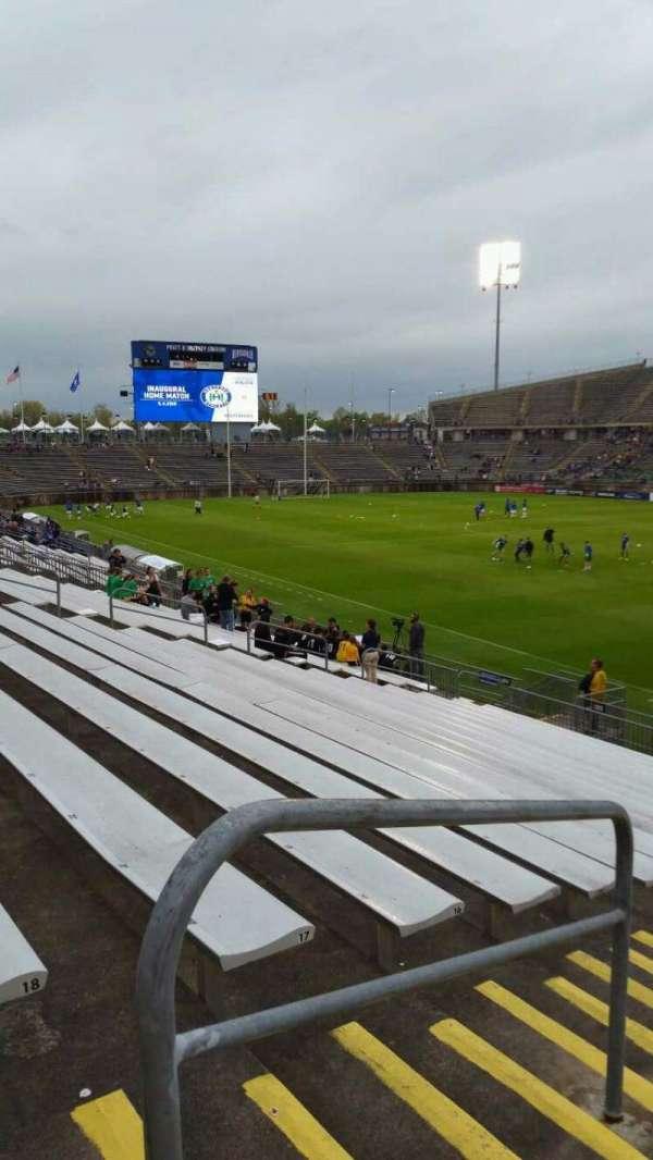 Rentschler Field, section: 106, row: 19, seat: 21