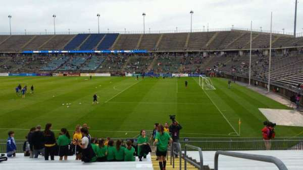 Rentschler Field, section: 104, row: 17, seat: 1