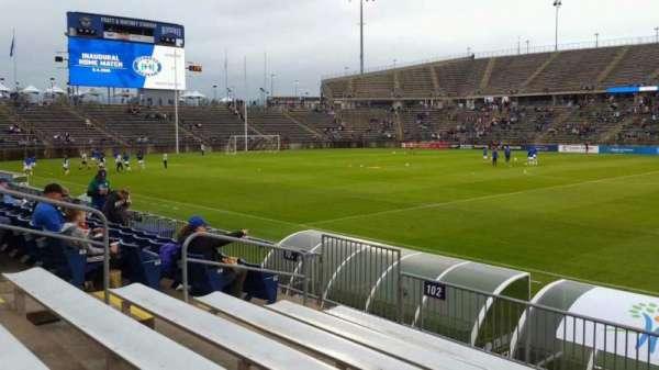 Rentschler Field, section: 102, row: 7, seat: 9