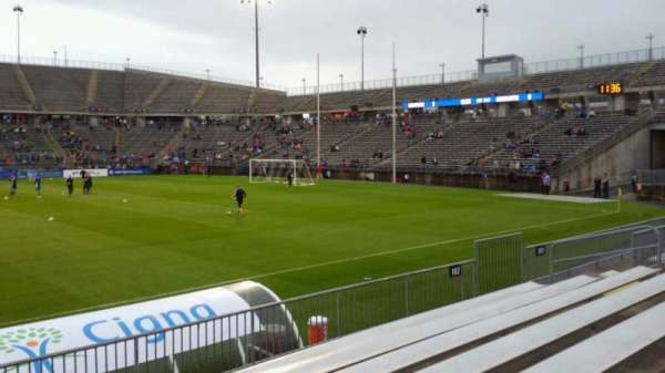Rentschler Field, section: 102, row: 7, seat: 20
