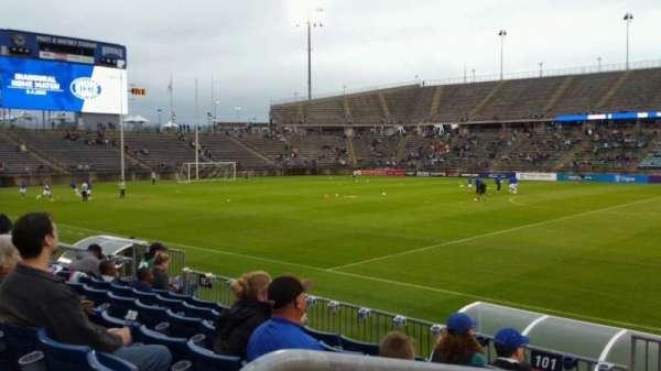 Rentschler Field, section: 102, row: 7, seat: 20
