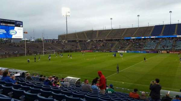 Rentschler Field, section: 101, row: 15, seat: 1