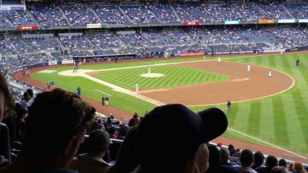 Yankee Stadium, section: 210, row: 22, seat: 18
