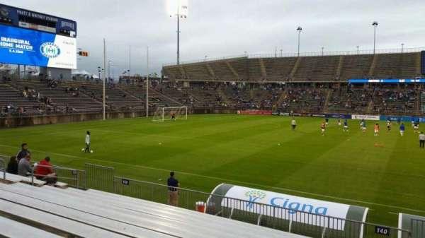 Rentschler Field, section: 140, row: 11, seat: 1
