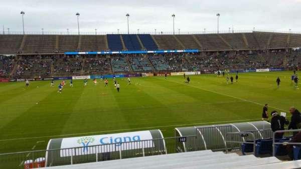 Rentschler Field, section: 140, row: 11, seat: 9