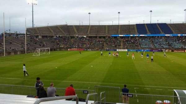 Rentschler Field, section: 140, row: 11, seat: 20