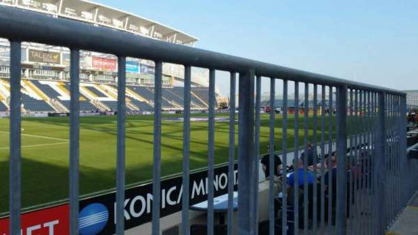 Talen Energy Stadium, section: 112, row: D, seat: 1