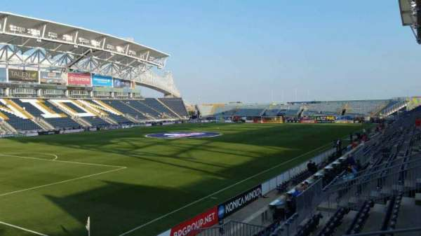 Talen Energy Stadium, section: 113, row: P, seat: 12