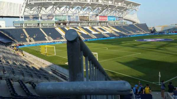 Talen Energy Stadium, section: 113, row: P, seat: 24