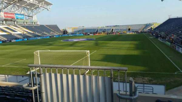 Talen Energy Stadium, section: 114, row: L, seat: 26