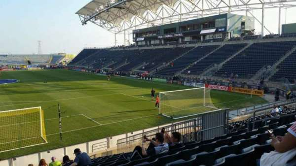 Talen Energy Stadium, section: 117, row: Q, seat: 14
