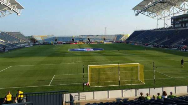 Talen Energy Stadium, section: 117, row: Q, seat: 24